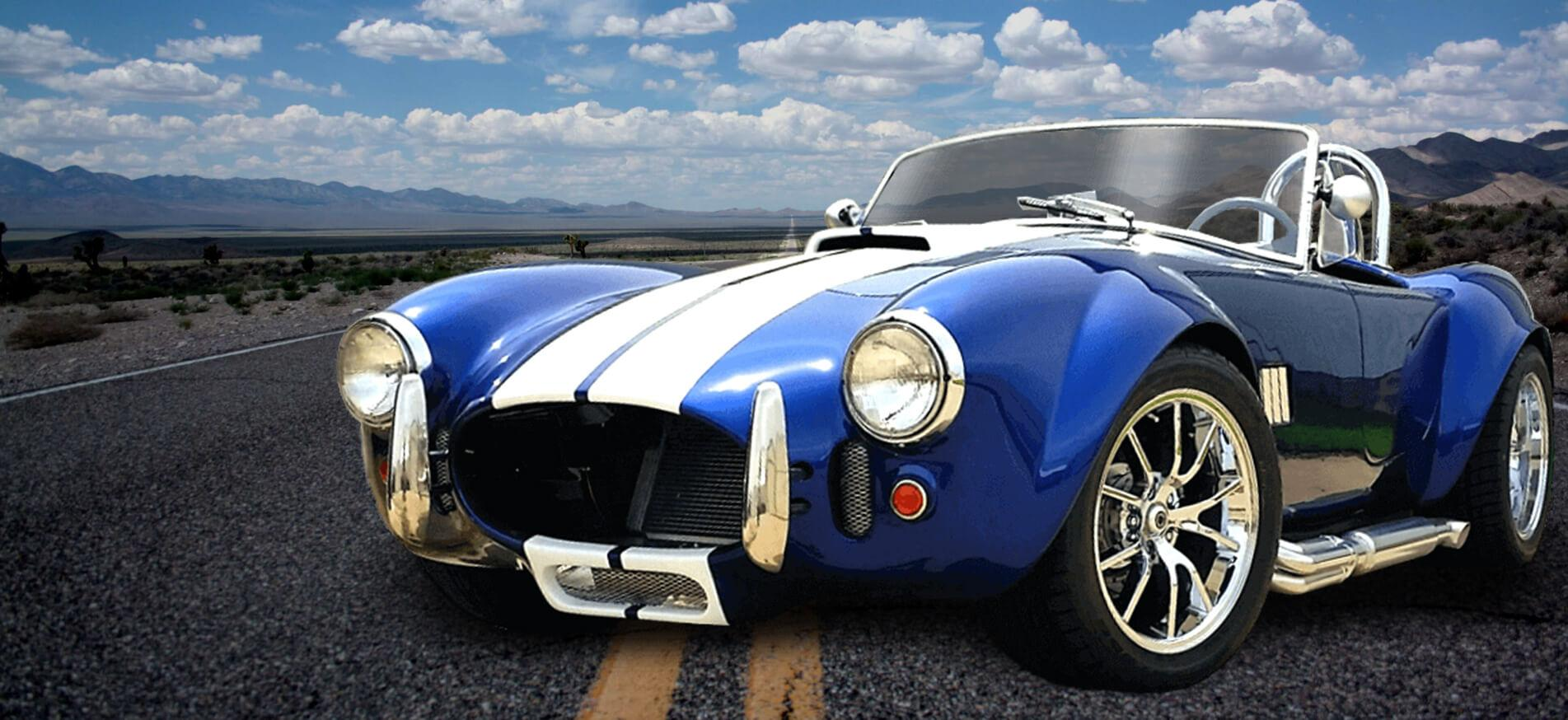 Cobra Kit Car >> High Performance Replica Custom Cobra Roadster