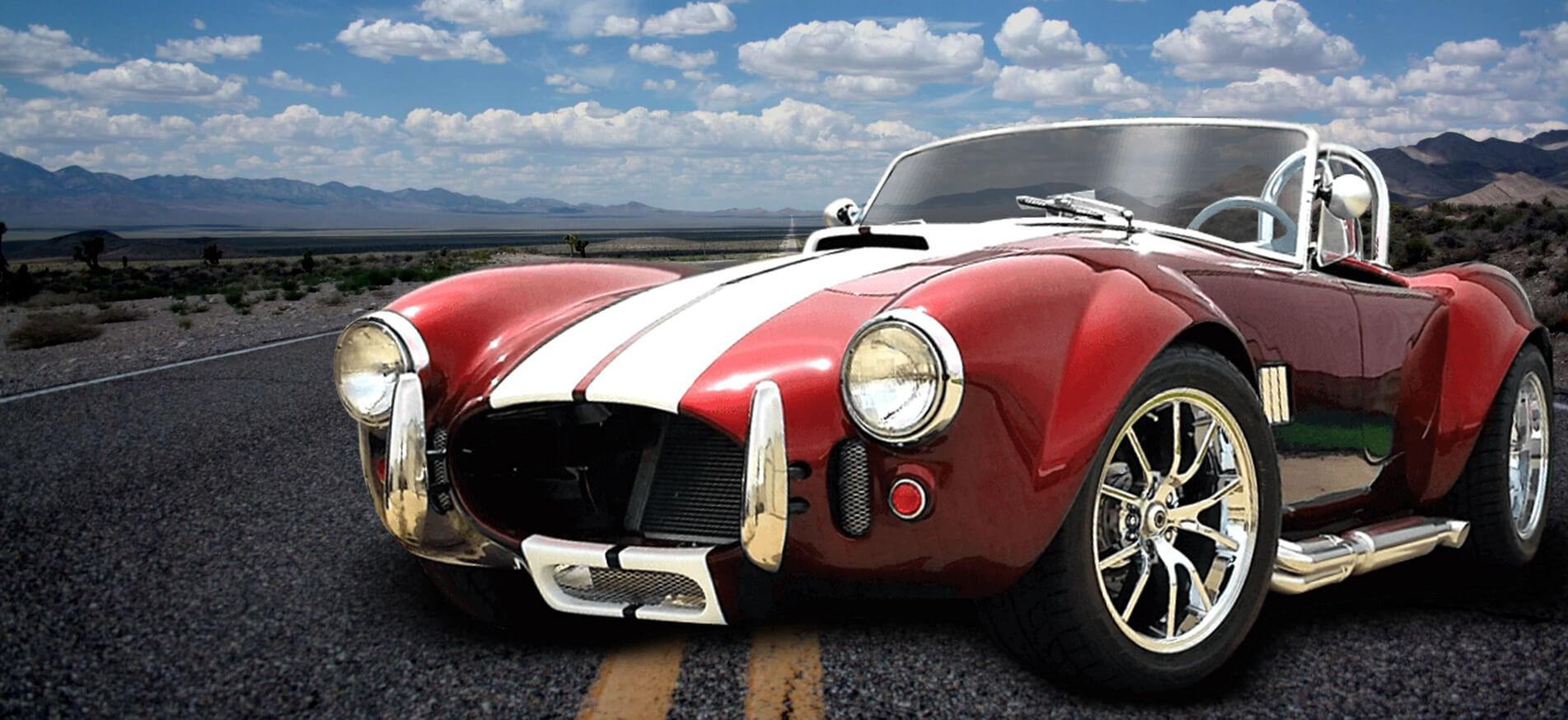 High-performance replica custom Cobra Roadster